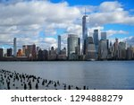 skyline of downtown manhattan... | Shutterstock . vector #1294888279