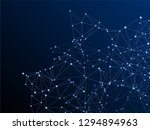 big data cloud scientific... | Shutterstock .eps vector #1294894963