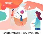 tiny men are preparing a... | Shutterstock .eps vector #1294900189