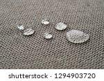 water repellent and waterproof... | Shutterstock . vector #1294903720