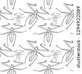 beetle vector seamless pattern... | Shutterstock .eps vector #1294922089