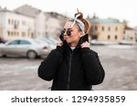 modern attractive young hipster ... | Shutterstock . vector #1294935859