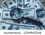 a lot of american cash money ... | Shutterstock . vector #1294942246
