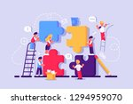 business concept for web page.... | Shutterstock .eps vector #1294959070