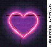 realistic neon lamp  bulb in...   Shutterstock .eps vector #1294967350