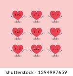 group of female hearts love... | Shutterstock .eps vector #1294997659