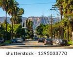 june 10  2018. hollywood  usa.... | Shutterstock . vector #1295033770