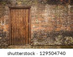 Old Wall And Door