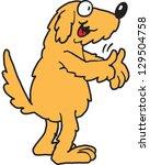 dog | Shutterstock .eps vector #129504758