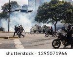 caracas  miranda venezuela  ...   Shutterstock . vector #1295071966