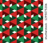 contemporary geometric pattern. ...   Shutterstock .eps vector #1295075206