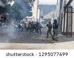 caracas  miranda venezuela  ...   Shutterstock . vector #1295077699