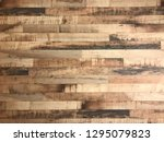 wood background plank | Shutterstock . vector #1295079823