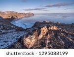 view of the tazheran coast of... | Shutterstock . vector #1295088199