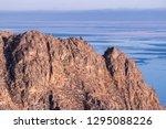 rocky coast of lake baikal | Shutterstock . vector #1295088226