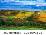 red earth in dongchuan | Shutterstock . vector #1295091523