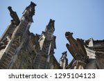 prague's ancient buildings and... | Shutterstock . vector #1295104123