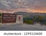 big bend  texas  usa 3 18 17...   Shutterstock . vector #1295110600