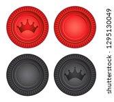 Checkers Board Game Pieces Vector Illustration Icon