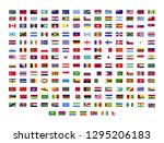 set of world flags | Shutterstock .eps vector #1295206183