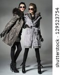 Two Vogue Style In Coat Dresse...