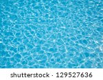 Sun Reflections In Pool Water...