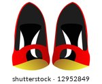 female shoes | Shutterstock . vector #12952849