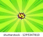 comic book versus background ... | Shutterstock .eps vector #1295347810