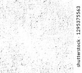 grunge black and white abstract ... | Shutterstock . vector #1295375563