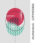 abstract geometric pattern...   Shutterstock .eps vector #1295402866