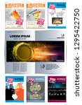 corporate booklet or... | Shutterstock .eps vector #1295422750