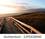 Bream Bay at sunrise Ruakaka Beach North Island New Zealand