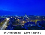 night in the city of rennes | Shutterstock . vector #1295458459