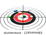 target identification and... | Shutterstock . vector #1295494483
