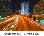 night traffic jam. hdr | Shutterstock . vector #129551438