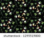 st.patrick's day pattern vector. | Shutterstock .eps vector #1295519800