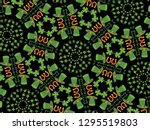 st.patrick's day pattern vector. | Shutterstock .eps vector #1295519803