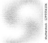 halftone designed grunge... | Shutterstock .eps vector #1295556106