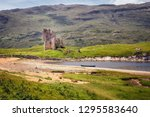 Ruins Of The Ardvreck Castle On ...