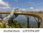 da nang  vietnam   october 31 ... | Shutterstock . vector #1295596189