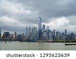 jersey city new jersey usa   13 ... | Shutterstock . vector #1295623639