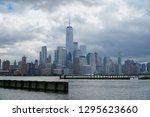 jersey city new jersey usa   13 ... | Shutterstock . vector #1295623660