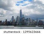 jersey city new jersey usa   13 ... | Shutterstock . vector #1295623666
