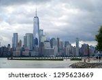 jersey city new jersey usa   13 ... | Shutterstock . vector #1295623669