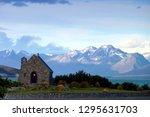 church of the good shepherd ... | Shutterstock . vector #1295631703