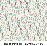 seamless decorative pattern... | Shutterstock .eps vector #1295639410