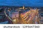 zagreb  croatia   october 7 ... | Shutterstock . vector #1295647360