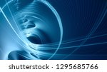 abstract blue background... | Shutterstock . vector #1295685766