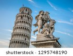 statue of angels on the... | Shutterstock . vector #1295748190