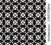 ornamental geometric seamless... | Shutterstock . vector #1295752846